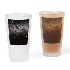 Crux and the southern celestial pol Drinking Glass