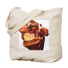 Cutaway model of face Tote Bag