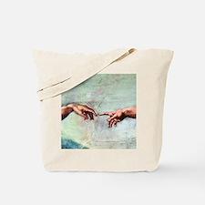 Creation of Adam Tote Bag