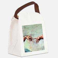 Creation of Adam Canvas Lunch Bag