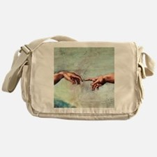 Creation of Adam Messenger Bag
