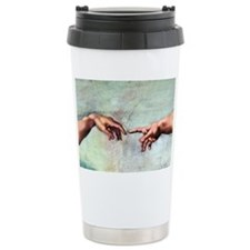 Creation of Adam Travel Mug