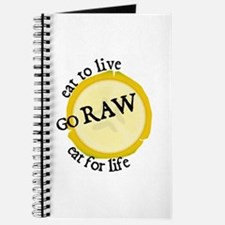 Cute Raw food Journal
