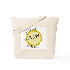 Unique Organic raw Tote Bag