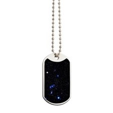 Constellation of Orion with halo effect Dog Tags