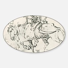 Death on horseback Decal