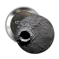 "Crater Timocharis on the Moon 2.25"" Button"