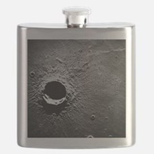 Crater Timocharis on the Moon Flask