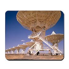 Dish antennae of the VLA radio telescope Mousepad