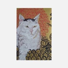 5x7 Klimt Cat Rectangle Magnet