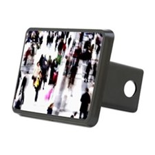 Crowd of people Hitch Cover
