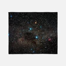 Crux constellation Throw Blanket