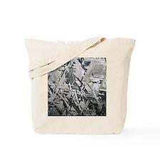 Crystal structures in meteorite Tote Bag