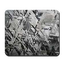 Crystal structures in meteorite Mousepad