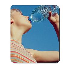 Drinking water Mousepad
