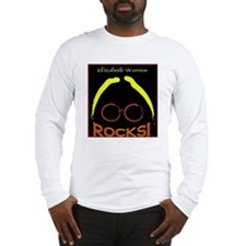 Elizabeth Warren Rocks Long Sleeve T-Shirt