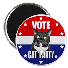 Vote: Cat Party! Magnet