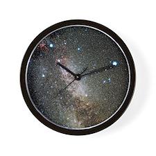 Cygnus and Lyra constellations Wall Clock