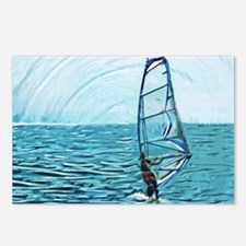 windsurf Postcards (Package of 8)