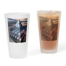 Decision-making hierarchy Drinking Glass
