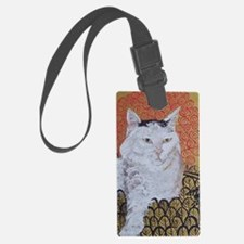 Journal Klimt Cat Luggage Tag