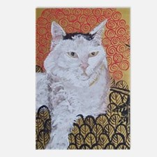 Journal Klimt Cat Postcards (Package of 8)