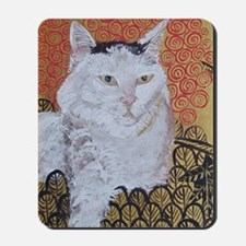 Journal Klimt Cat Mousepad