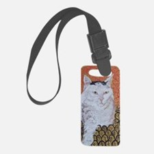 Journal Klimt Cat Luggage Tag