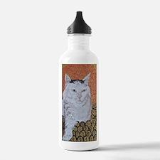 Journal Klimt Cat Water Bottle