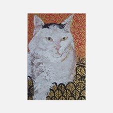 Journal Klimt Cat Rectangle Magnet