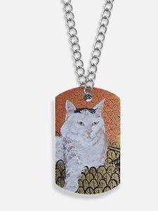 Journal Klimt Cat Dog Tags