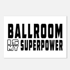 Ballroom Dance is my superpower Postcards (Package
