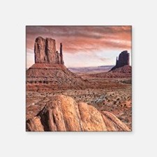 "monument valley Square Sticker 3"" x 3"""