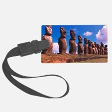 Easter Island statues Luggage Tag