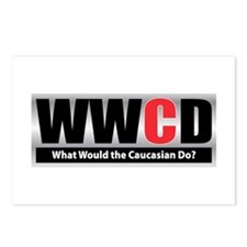 WW the Caucasian D Postcards (Package of 8)