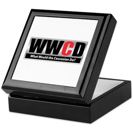 WW the Caucasian D Keepsake Box
