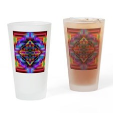 Abstract Design Drinking Glass
