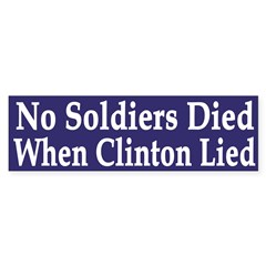 No Soldiers Died When Clinton Lied