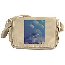 Earth and planets Messenger Bag