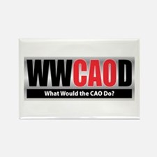 WW the CAO D Rectangle Magnet
