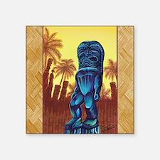 "Ku, God of Strength Square Sticker 3"" x 3"""