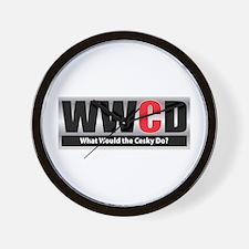 WW the Cesky D Wall Clock
