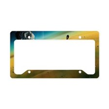Earth's formation License Plate Holder