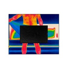 Drying off, thermogram Picture Frame