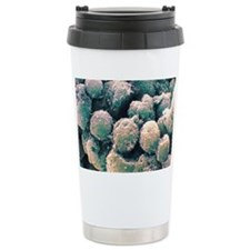 Monocyte white blood cells, SEM Travel Mug