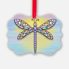 Dragonfly1B-pastel Ornament