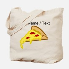 Custom Pizza Slice Tote Bag