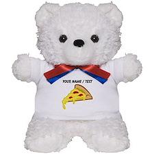Custom Pizza Slice Teddy Bear