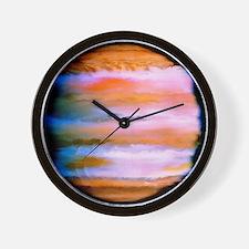 Effect on Jupiter's atmosphere of comet Wall Clock