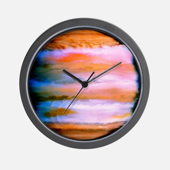 Effect on Jupiter's atmosphere of comet Wall Clock
